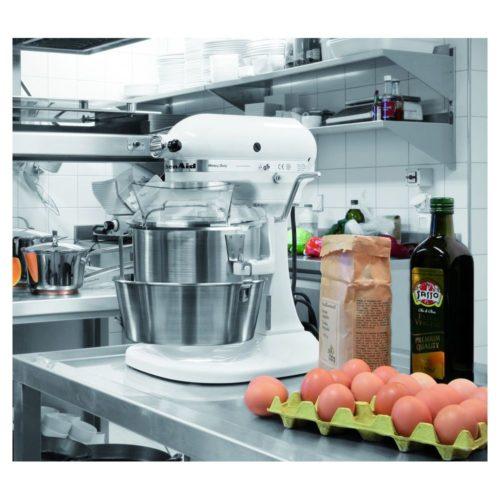 KitchenAid 5KPM5EWH, weiß, 4,83L - Bartscher - Gastroworld-24