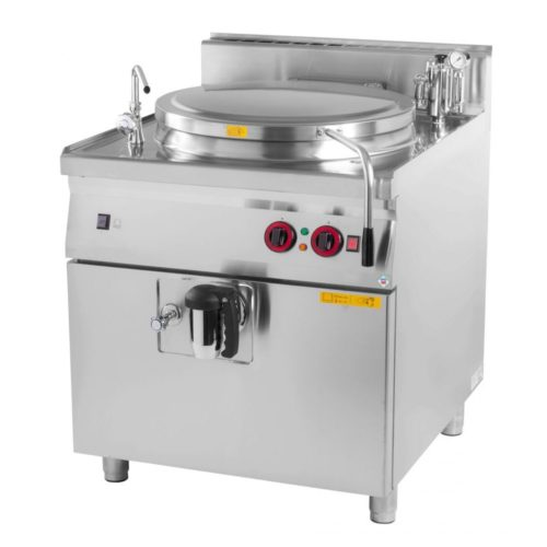 Kochkessel Gas, 800x900x900 mm, 100 Liter, indirekte Hitze, - GGG - Gastroworld-24