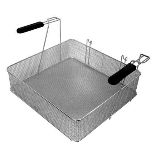 Korb für Elektro-Fritteuse, 475x450x120 mm - Virtus - Gastroworld-24