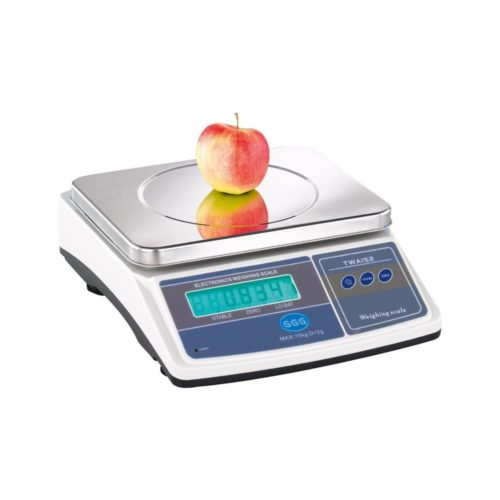 Küchenwaage, 345x280x135mm, Wiegefläche: 280x215 mm, - GGG - Gastroworld-24