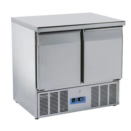 Kühl-Vorbereitungstisch mit 2 Türen GN 1/1, 0°/+8°C - Virtus - Gastroworld-24