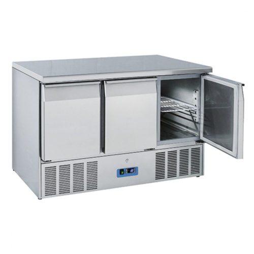 Kühl-Vorbereitungstisch mit 3 Türen GN 1/1, 0°/+8°C - Virtus - Gastroworld-24