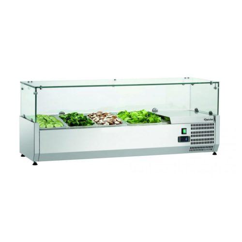 Kühlaufsatzvitrine GL3 3x1/3+1x1/2GN - Bartscher - Gastroworld-24