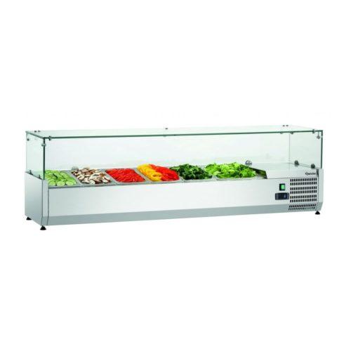Kühlaufsatzvitrine GL3 5x1/3+1x1/2GN - Bartscher - Gastroworld-24