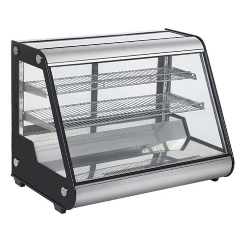 Kühlheke mit 3 Ebenen und Schiebefenster, Tischmodell, B=697 mm - Virtus - Gastroworld-24