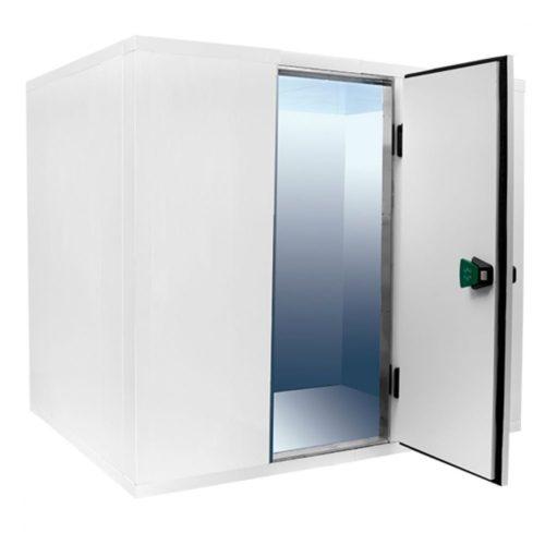 Kühlzelle, Isolierung 80 mm, H=2010 mm, 2400x1500 mm - Virtus - Gastroworld-24