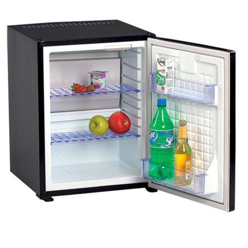 Minibar mit 2 Regalböden, schwarz, 38 Liter - Virtus - Gastroworld-24