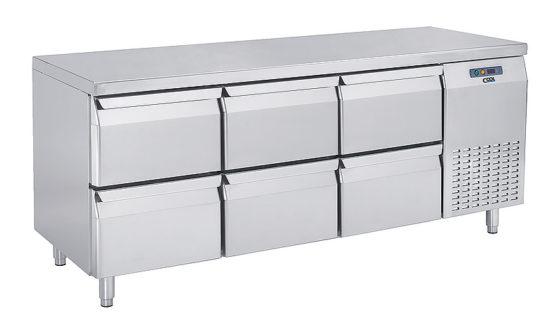 Nordcap Gastro Kühltisch Breite: 1755 mm Tiefe: 700 mm - Produkt - Gastrowold-24 - Ihr Onlineshop für Gastronomiebedarf