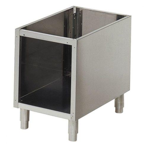 offener Unterbau für Tischgeräte B=400 mm - Virtus - Gastroworld-24
