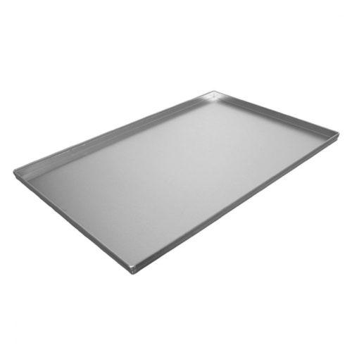 Pizzablech aus Alublech, 600x400x20 h mm - Virtus - Gastroworld-24