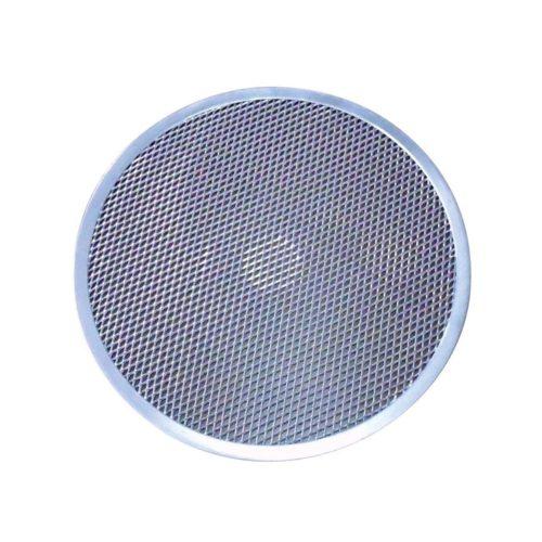 "Pizzablech, rund, Gitterform, 19"" (48,3 cm), Aluminium - GGG - Gastroworld-24"