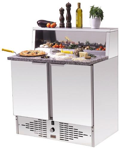 Pizzamaster 95E Edelstahlaufsatz für 5xGN 1/6 - Produkt - Gastrowold-24 - Ihr Onlineshop für Gastronomiebedarf