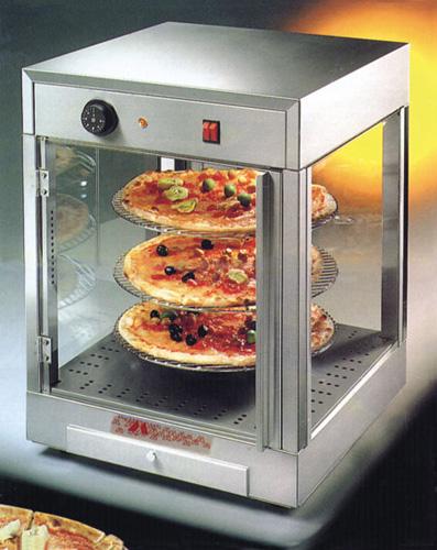 Pizzavitrine mit 3 etagigem Drehteller - Produkt - Gastrowold-24 - Ihr Onlineshop für Gastronomiebedarf