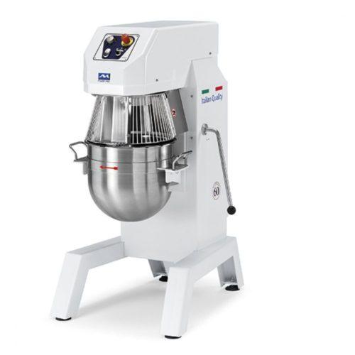 Planetenrührmaschine 60 Liter mit 3 Geschwindigkeiten - 400V/3F - Virtus - Gastroworld-24