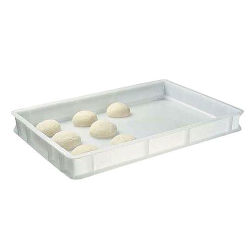 Plastikkiste für Pizzabällchen, 600x400x70 mm - Virtus - Gastroworld-24