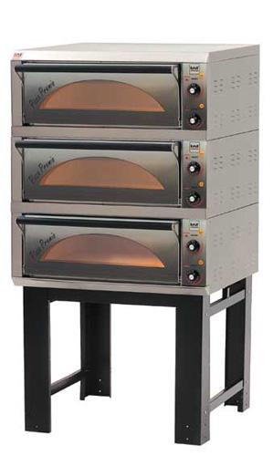 Premio 6131 Pizzaofen mit 3 Etagen Backfläche 610x310 mm - Produkt - Gastrowold-24 - Ihr Onlineshop für Gastronomiebedarf
