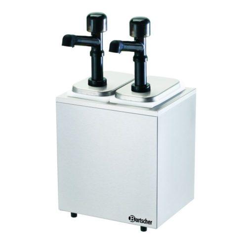 Pumpstation,2 Pumpen 2x3,3L - Bartscher - Gastroworld-24