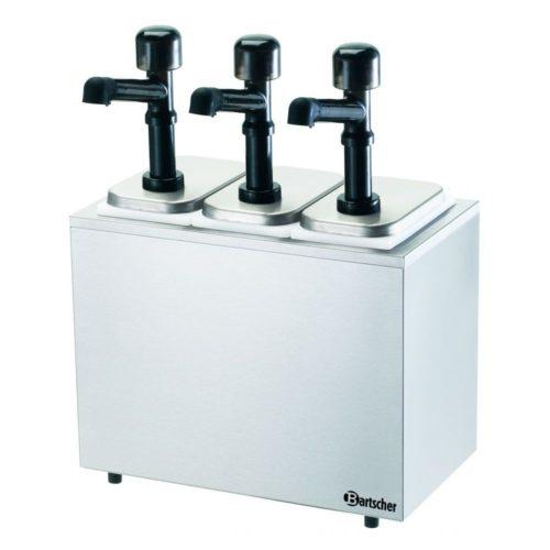 Pumpstation,3 Pumpen 3x3,3L - Bartscher - Gastroworld-24