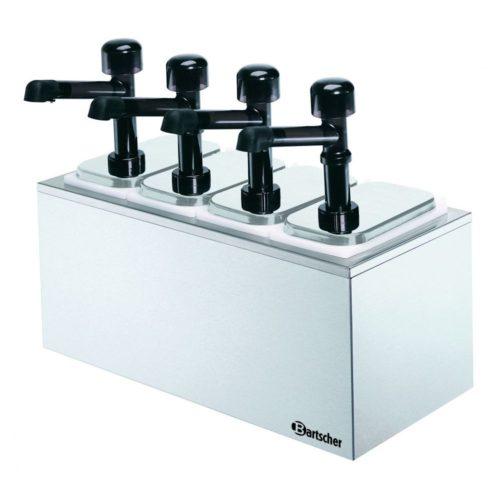 Pumpstation,4 Pumpen 4x3,3L - Bartscher - Gastroworld-24