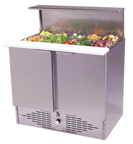 Saladette 95 mit Schneidbrett und Deckel - Produkt - Gastrowold-24 - Ihr Onlineshop für Gastronomiebedarf