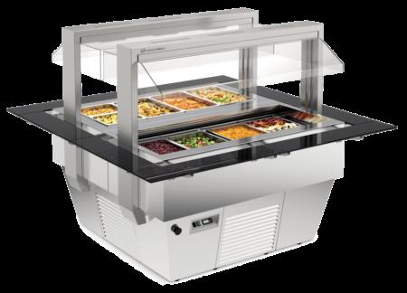 Salatbar | Bain-Marie Tiffany 4M - Produkt - Gastrowold-24 - Ihr Onlineshop für Gastronomiebedarf