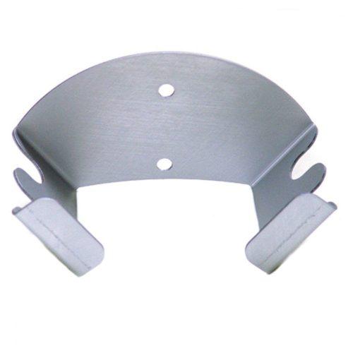Schaufelträger in Aluminium für 2 Pizzaschaufeln, Wandmontage - Virtus - Gastroworld-24