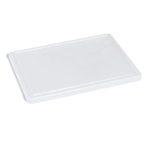 Schneidebrett für Käse mit Saftrille, 400x300 mm - Virtus - Gastroworld-24