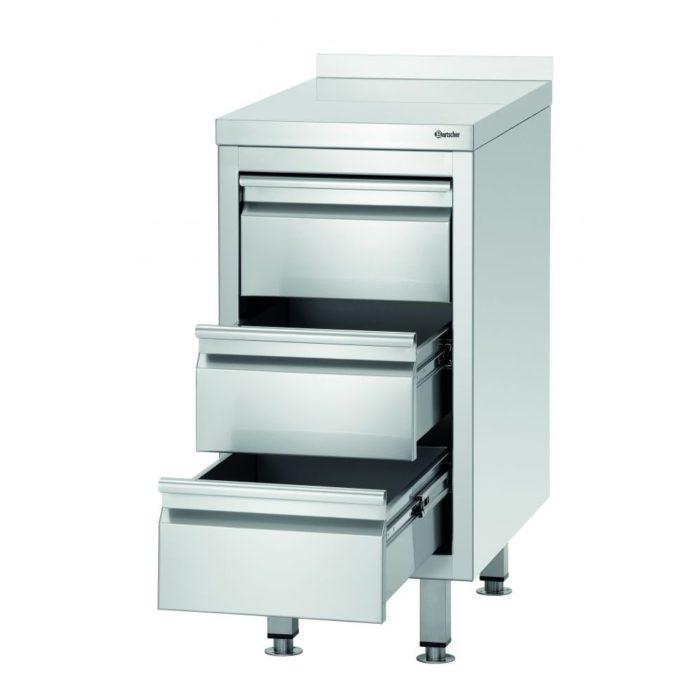 Schubladenschrank 700S3A - Bartscher - Gastroworld-24