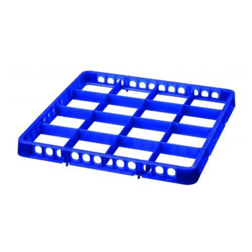 Spülkorbteiler 16, 500x500x45, dunkelbla - Bartscher - Gastroworld-24