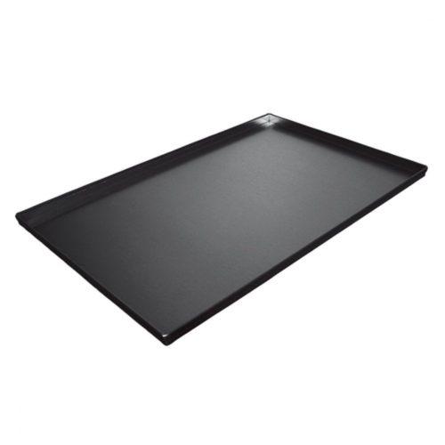 teflonbeschichtetes Aluminiumblech, 600x400x20 h mm - Virtus - Gastroworld-24
