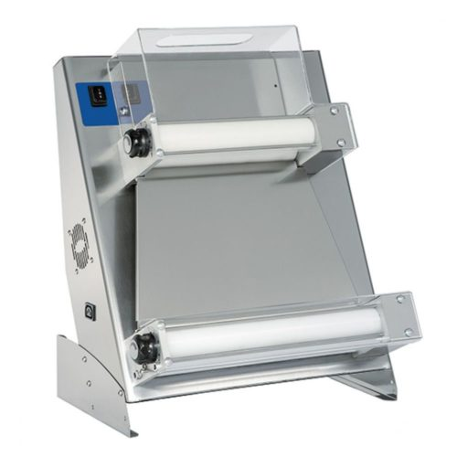 Teigausrollmaschine mit 2 Parallelrollen für Pizzen ø 260-450 mm - Virtus - Gastroworld-24