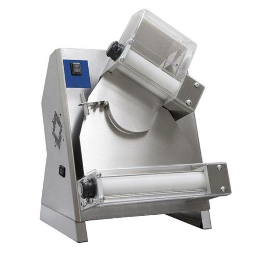 Teigausrollmaschine mit 2 Rollen für Pizzen ø 140-300 mm - Virtus - Gastroworld-24