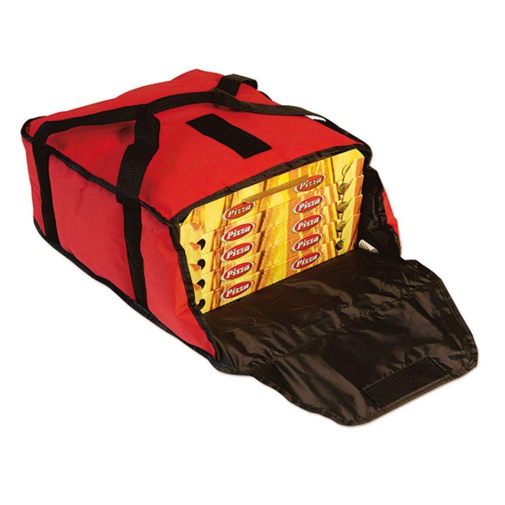 Thermotasche für 4 Pizzakartons, max ø 400 mm - Virtus - Gastroworld-24