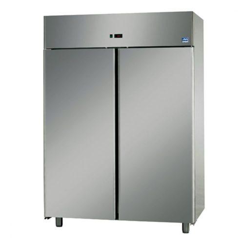 Tiefkühlschrank 1200 Liter aus Edelstahl, -18°/-22°C - Virtus - Gastroworld-24