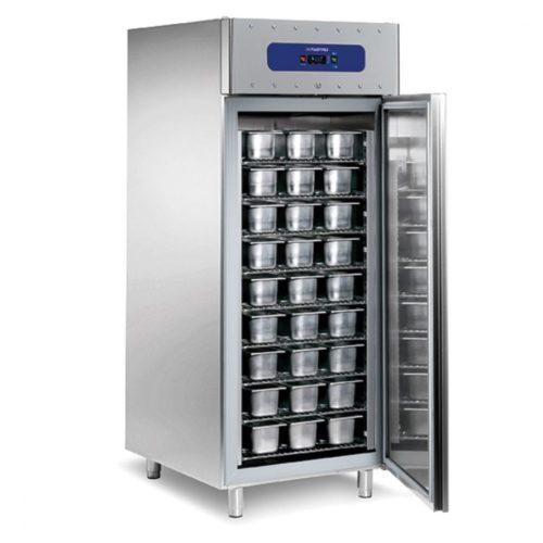 Tiefkühlschrank für 54 Speiseeisbehälter, -10°/-30°C - Virtus - Gastroworld-24