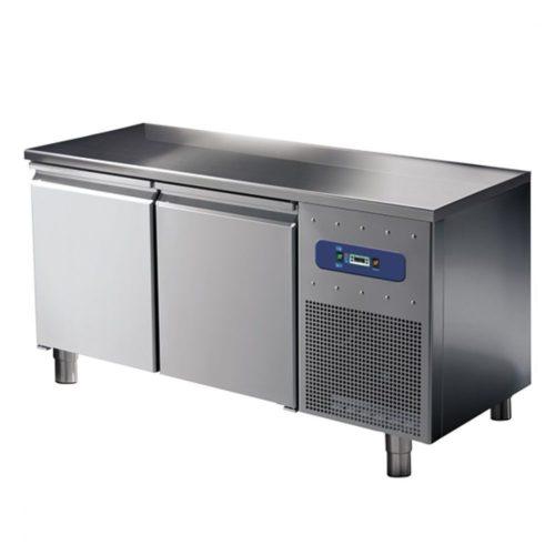 Tiefkühltisch 600 mm 2 türig, -10°/-20°C - Virtus - Gastroworld-24