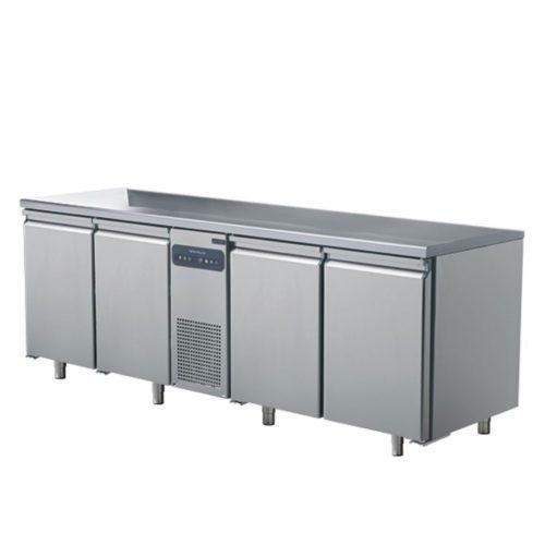 Tiefkühltisch mit 4 Türen GN 1/1, -10°/-22°C - Virtus - Gastroworld-24
