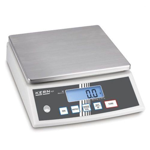 Tischwaage in Edelstahl, Wägebereich maximal 30 kg, Ablesbarkeit 1 g - Virtus - Gastroworld-24