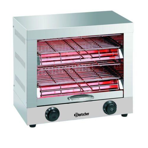 Toast- /Überbackgerät, doppelt - Bartscher - Gastroworld-24