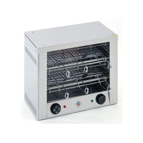 Toaster, 452x274x403 mm, mit 2 x 3 Toast-Halterungen, - GGG - Gastroworld-24