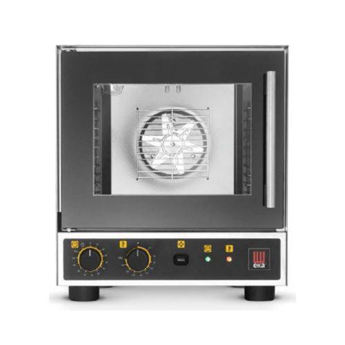 Umluft- und Heißluftofen 4x 1/2 GN, 460x512x462 mm, - GGG - Gastroworld-24