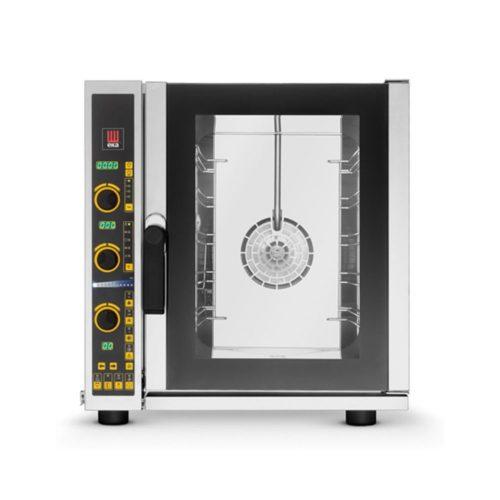 Umluft- und Heißluftofen, 5x 2/3 GN, 610x730x660mm,direkte - GGG - Gastroworld-24