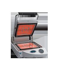 Unox Glaskeramik Kontaktgrill XP 010 PT - Manuelle Steuerung - Produkt - Gastrowold-24 - Ihr Onlineshop für Gastronomiebedarf