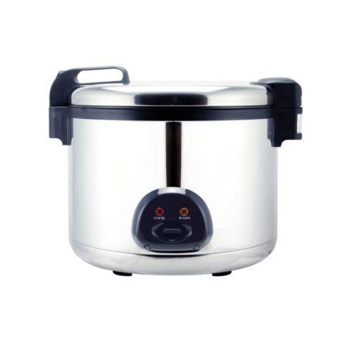 Vollautomatischer Reiskochtopf, für bis zu 6 Liter Reis, - GGG - Gastroworld-24