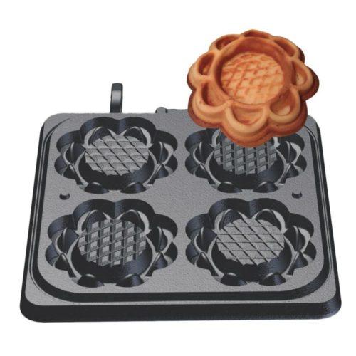 Waffeltörtchen Backplattensatz - Neumärker - Gastroworld-24