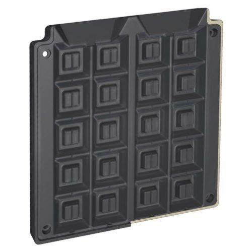 Waffo-Biss Backplattensatz - Neumärker - Gastroworld-24