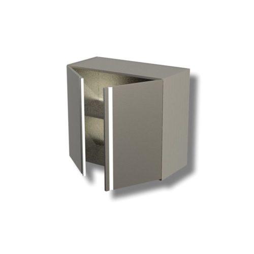 Wandhängeschrank 800x400x650 mm, - GGG - Gastroworld-24
