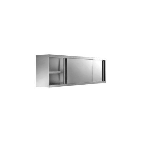 Wandhängeschrank geschlossen, 2000x400x650mm - GGG - Gastroworld-24