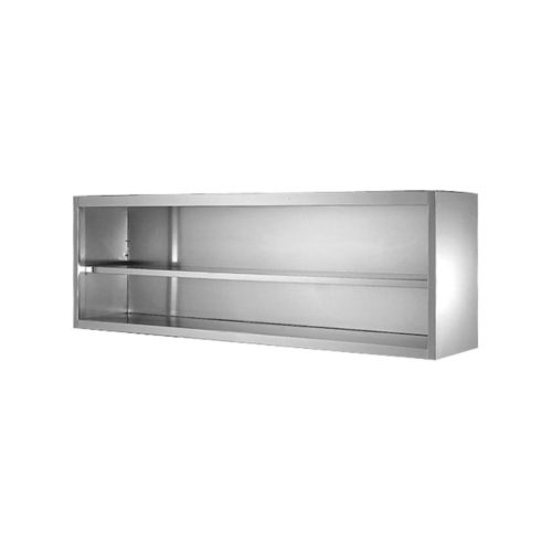 Wandhängeschrank  offen 1500x400x650mm - GGG - Gastroworld-24