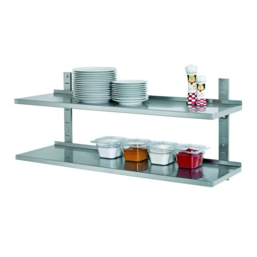 Wandregal Set, 1200x355 komplett - Bartscher - Gastroworld-24